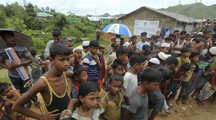 Bangladesh grants formal education to Rohingya children living in refugee camps