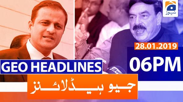 Geo Headlines 06 PM | 28th January 2020