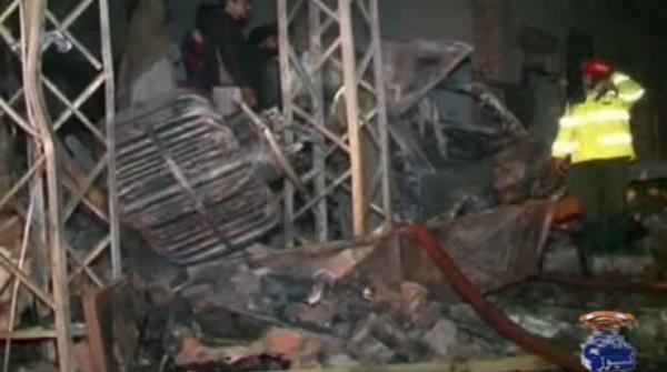 Eleven killed in Lahore perfume factory fire