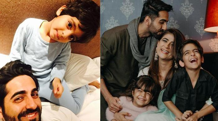 Ayushmann Khurrana's son's take on homosexuality leaves mum stunned