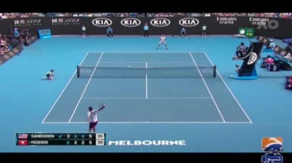 'Mr Cool' Roger Federer loses temper