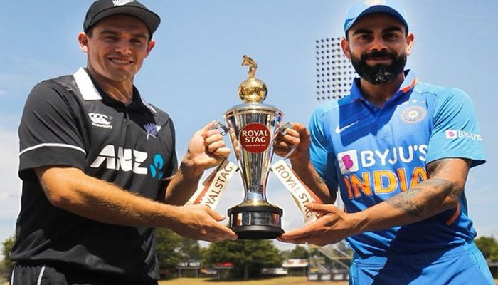 New Zealand put India to bat in third ODI