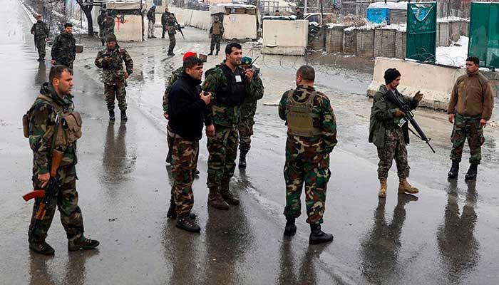 Suicide bombing kills six near military academy in Kabul