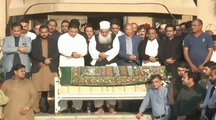 Naeemul Haque's funeral prayers held in Karachi