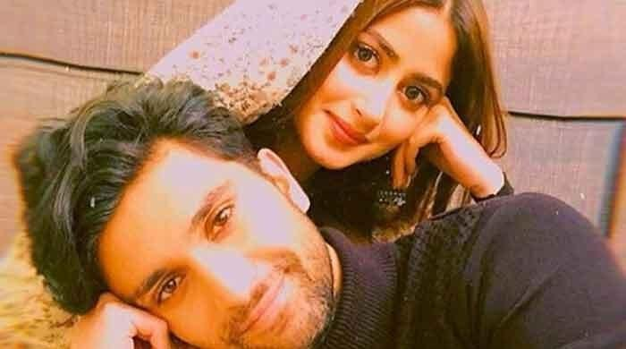 Sajal Ali shares loved-up picture with Ahad Raza Mir: Check out
