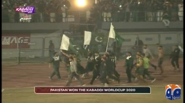 Kabaddi World Cup: Pakistan defeat India to become champions for first time