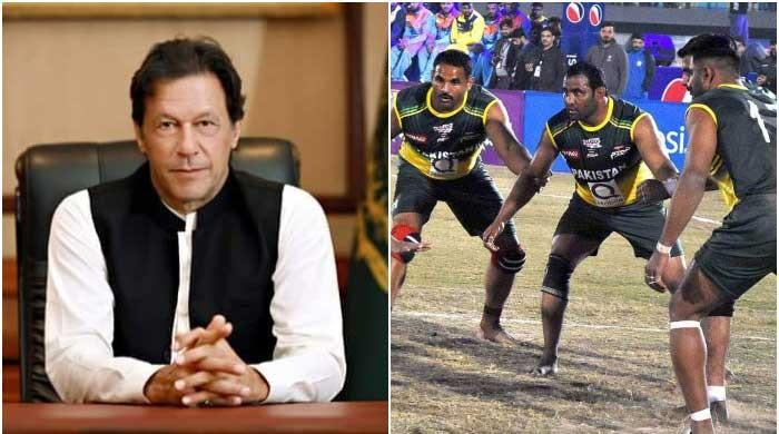 PM Imran congratulates kabbadi team for lifting maiden World Cup