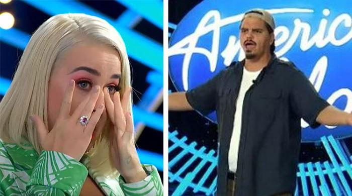 American Idol: Katy Perry wells up as garbage man wows the judges with moving audition