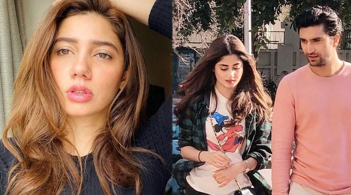 Mahira Khan showers love on Sajal Ali, Ahad Raza Mir