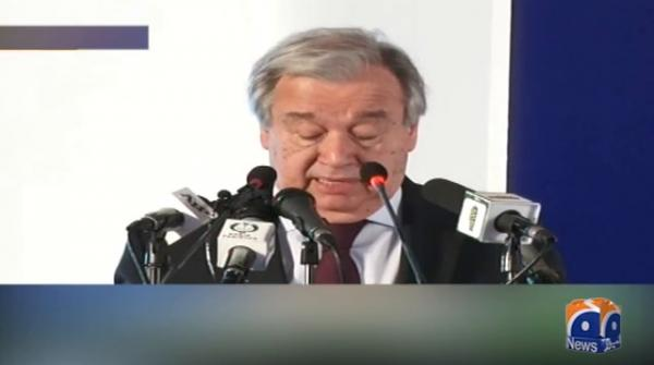 Pakistan opened its doors for Afghan refugees: UN chief