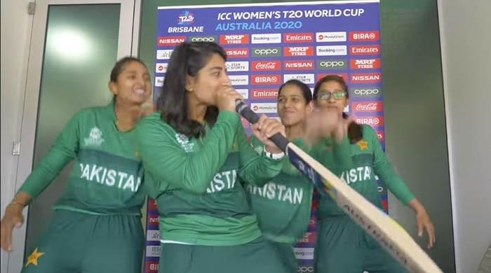 Watch: Pakistani female cricketers beatbox like pros