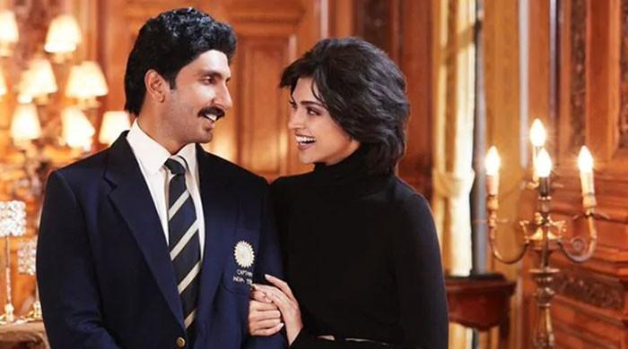 '83' first look unveils Ranveer Singh and Deepika Padukone as Kapil and Romi Dev