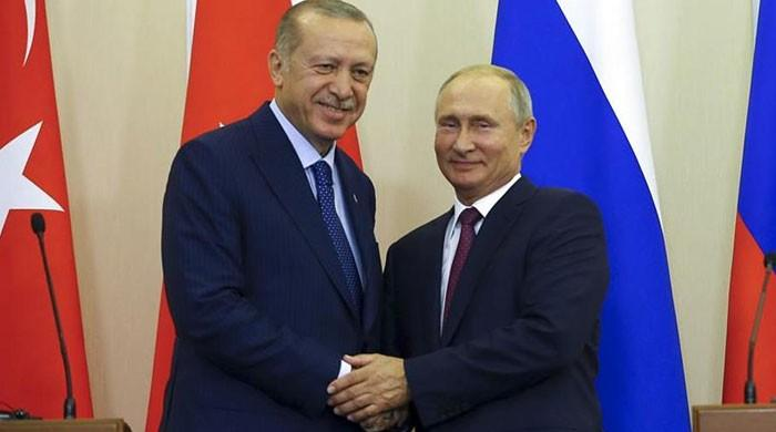 Erdogan urges Putin to restrain violence of Syria regime in Idlib
