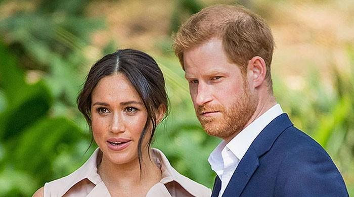 Prince Harry and Meghan Markle 'saddened' to leave royal family