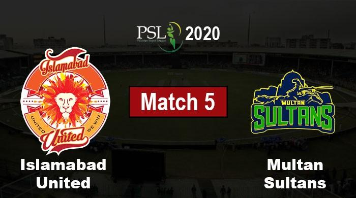 PSL 2020: Islamabad United vs Multan Sultans, Live Score, PSL 5 Match 5
