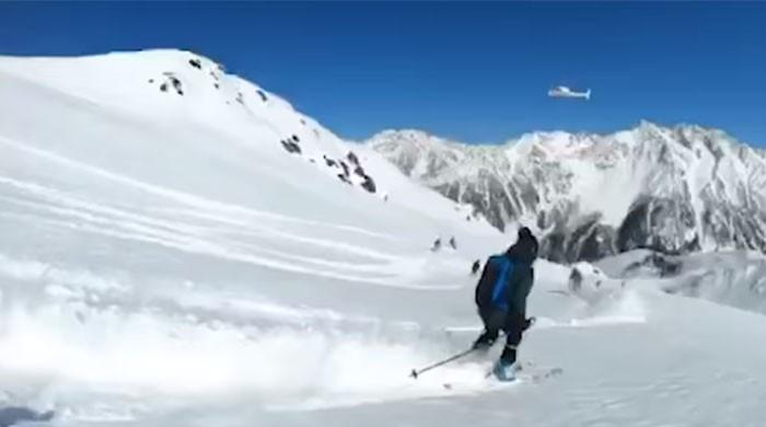 More than 60 foreign skiers participate in Heliski expedition in Shogran