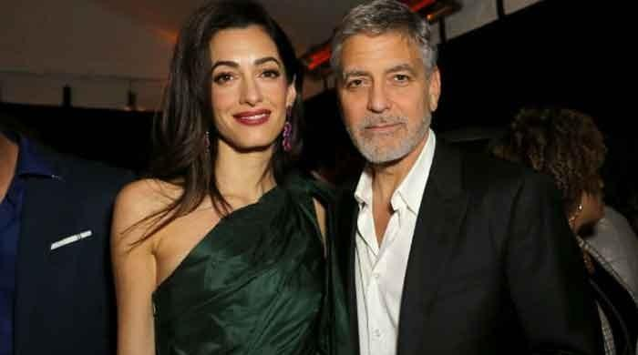 George Clooney and  Amal Clooney's UK mansion damaged by storm Dennis
