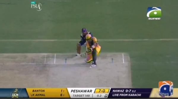 Peshawar Zalmi defeated Quetta Gladiators by six wickets
