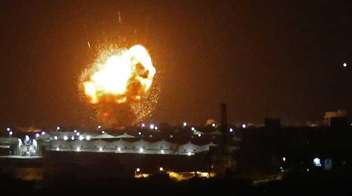 Israeli strikes kill six alleged militants in Syria after Palestinian rocket barrage