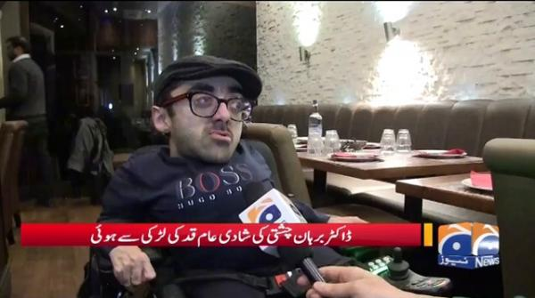 2 Futt K Pakistani Nazad Doctor Ki Bertania Me Shadi
