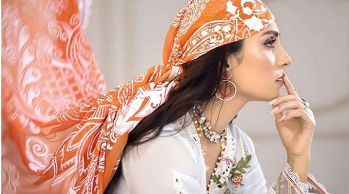 Ayeza Khan slays in her 'favourite shot' with finger on lips