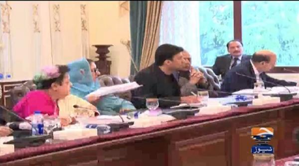 Federal cabinet meeting chaired by PM Imran Khan