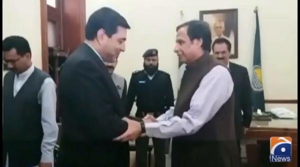 Speaker Punjab Assembly meets Irani envoy Syed Ali Muhammad
