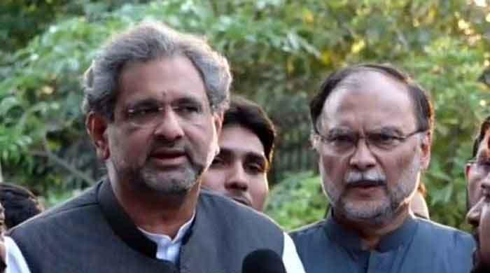 Shahid Khaqan Abbasi, Ahsan Iqbal released from Adiala Jail