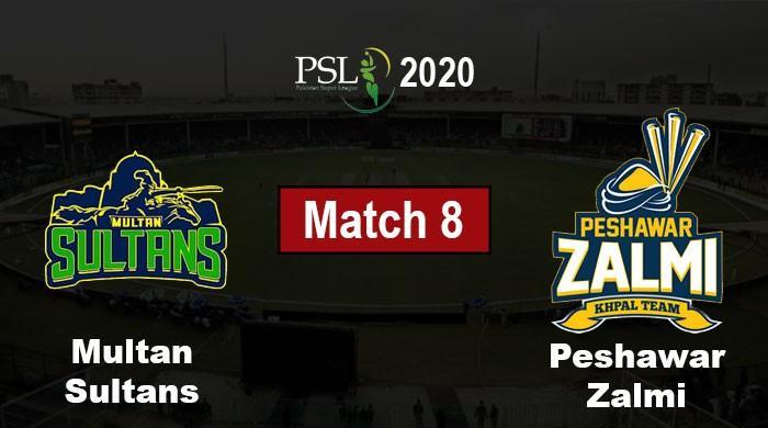 PSL 2020: Peshawar Zalmi vs Multan Sultans Live Score Updates, Match 8