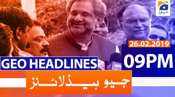 Geo Headlines 09 PM | 26th February 2020