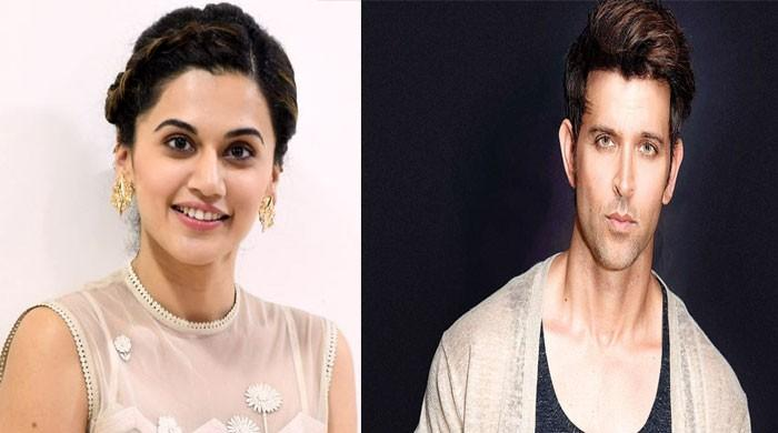 Taapsee Pannu reveals to be a fangirl of Hrithik Roshan