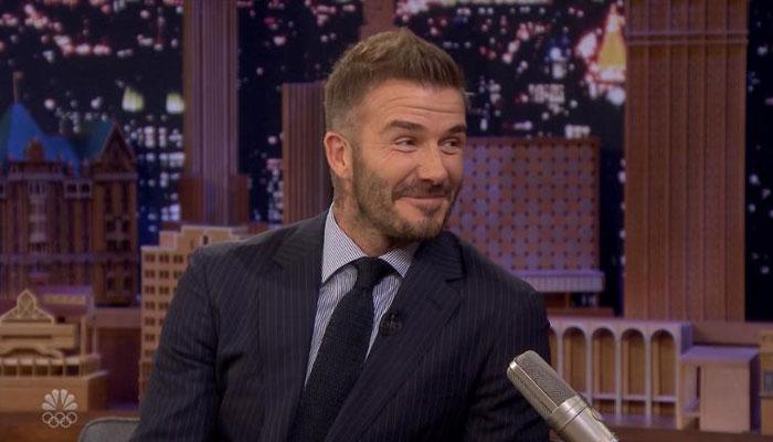 David Beckham shares his sentimentality with Victoria