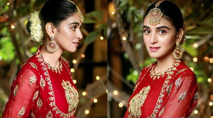 Anmol Baloch looks ethereal in red: See Pics