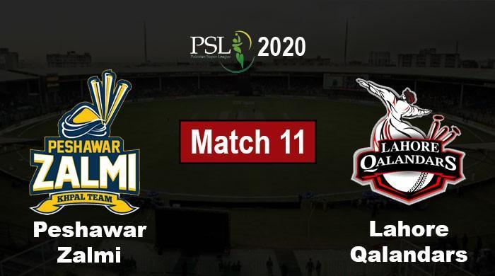 PSL 2020 Live Score: Peshawar Zalmi vs Lahore Qalandars, PSL 5 Match 11