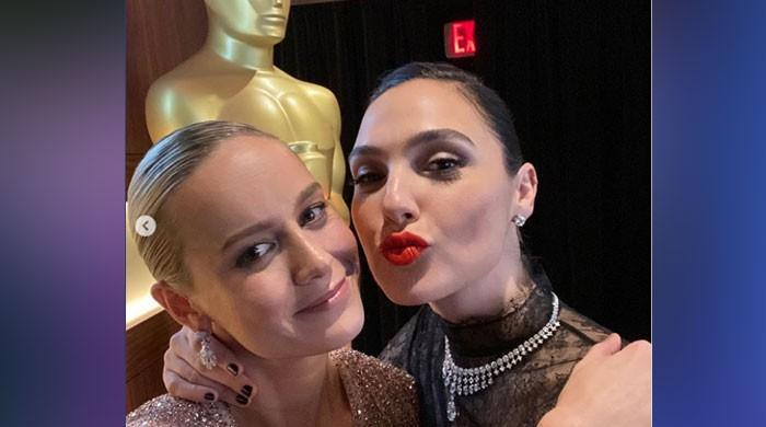 Wonder Woman's Gal Gadot shares photos with Captain Marvel's Brie Larson