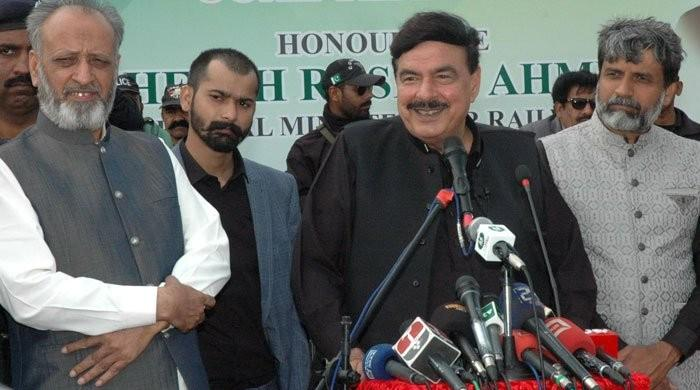 Opposition parties in no position to launch move against govt, says Sheikh Rasheed