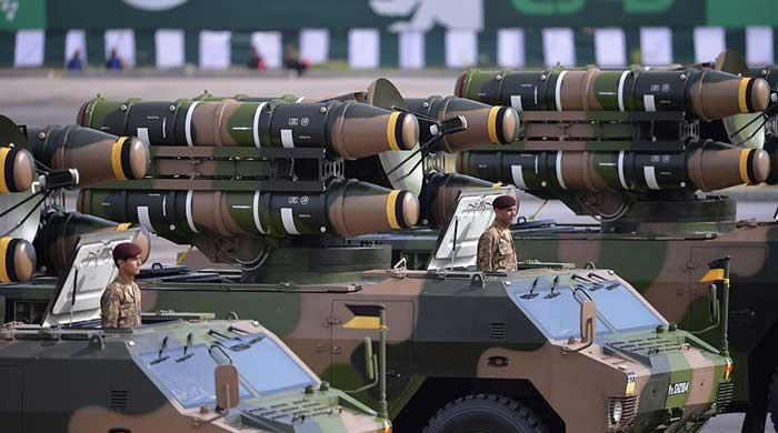 Pakistan 11th largest arms importer in the world, claims research institute