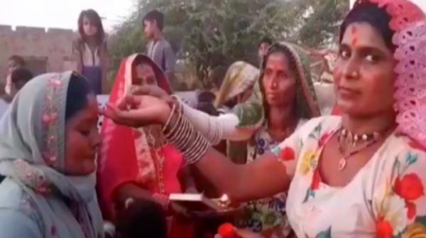 Colourful Holi celebrations in Thar