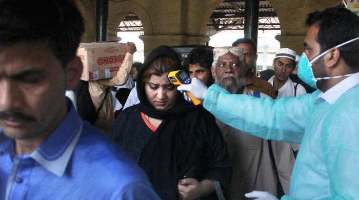 Sindh health dept confirms 'large number of people' from Iran quarantined in Karachi