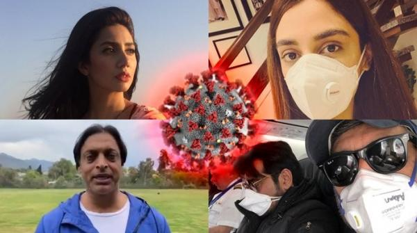 Pakistani celebs up the ante in battle against coronavirus, urge fans to practice caution