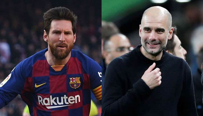 Lionel Messi, Pep Guardiola donate one million euros each to coronavirus battle - Geo News