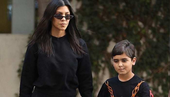 Kourtney Kardashian has deleted her son's Instagram account - 29-Mar