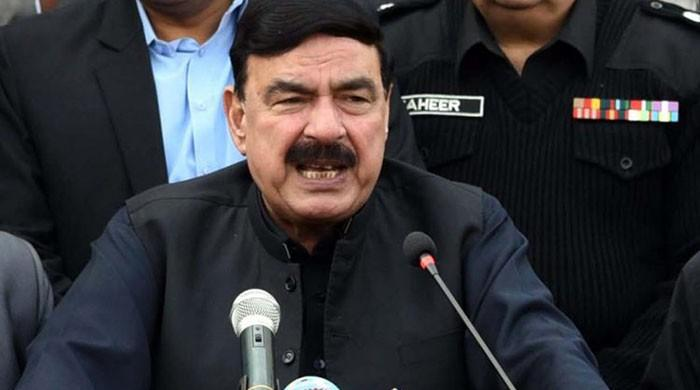 Train services to remain suspended for the time being: Sheikh Rashid