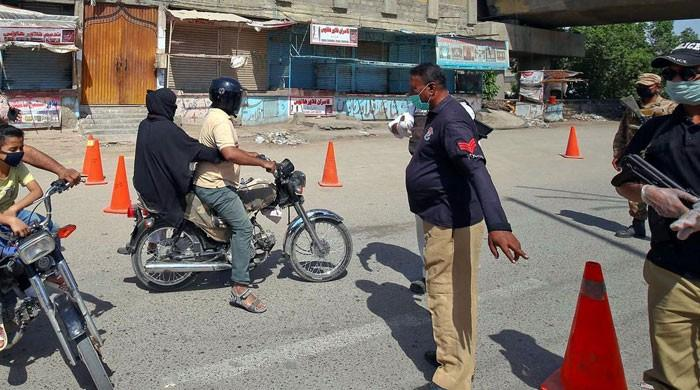 Sindh top cop says police at higher risk of coronavirus
