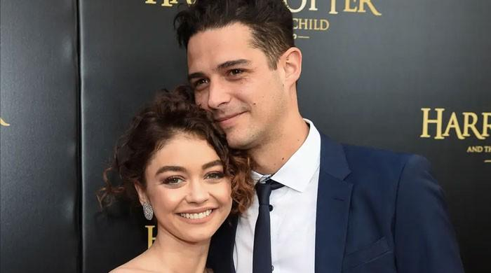 Sarah Hyland 'gagged' over how she and Wells Adams began dating
