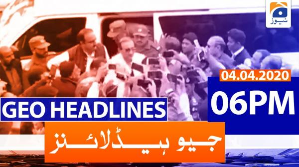 Geo Headlines 06 PM | 4th April 2020