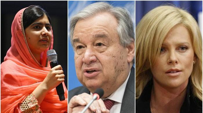 Malala, Charlize Theron back UN chief's calls for global ceasefire amid COVID-19 pandemic