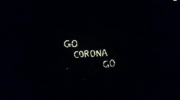 'Go Corona Go': India answers Modi's call to fight virus 'darkness' with lamps