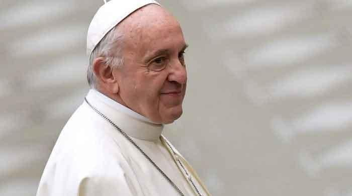 Pope Francis calls COVID-19 a tragedy that must be faced with courage and hope.