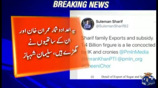 Statistics of Rs1.4bn are false, says Suleman Shehbaz